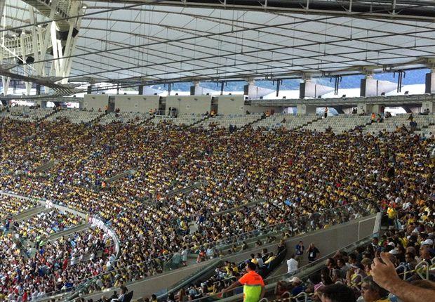 Os brasileiros ficaram com mais de 70% dos ingressos