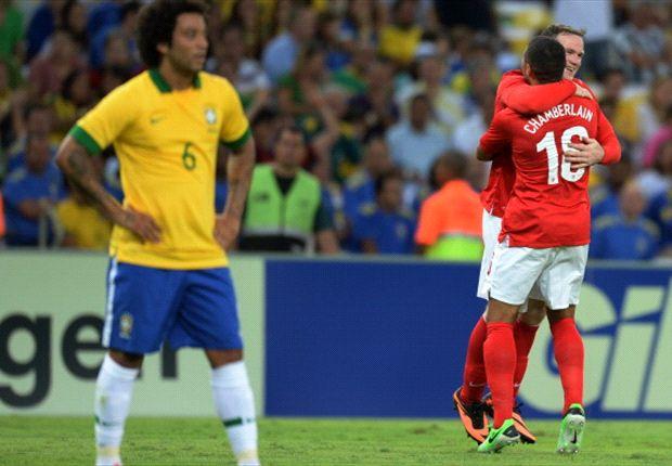 Inggris nyaris saja menghentak Maracana.