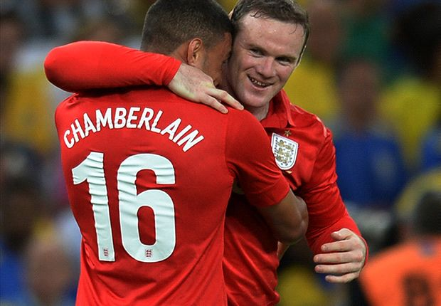 Oxlade-Chamberlain & Rooney score in England draw with Brazil