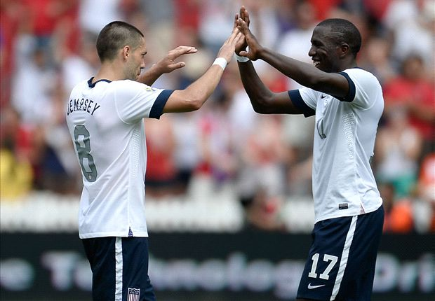 Altidore ends U.S. slump, teams with Dempsey to carry prolific attack against Germany
