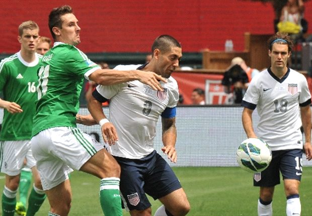 Dempsey scored two goals in the USA's 4-3 win