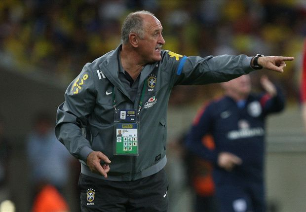 Scolari: Spain is not the Confederations Cup final favorite