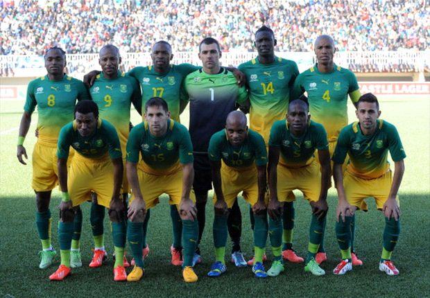 Bafana team photo