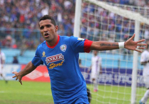 Alberto 'Beto' Goncalves salah satu andalan Arema untuk meraih gelar juara di Piala Menpora