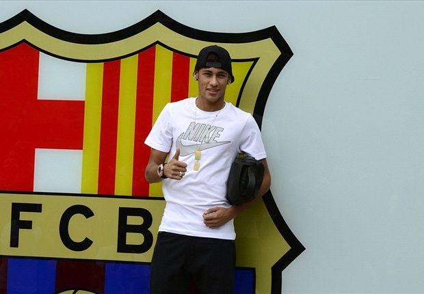 Rosell, a Dani Alves y Adriano: Cuidad de Neymar