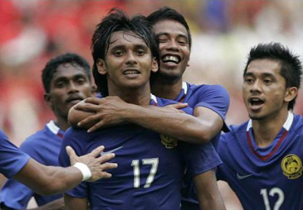 Malaysia are in the 159th postion in the FIFA rankings