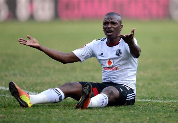 Masuku has accepted criticism for his behaviour in the Orlando Pirates dugout