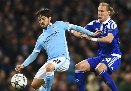 Man City 0-0 Dynamo (3-1 agg.)