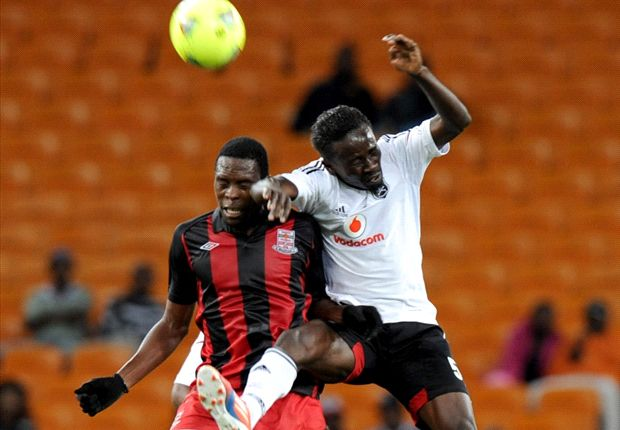 Former Orlando Pirates' Okonkwo on his way to MP Black Aces