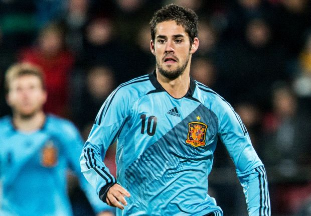 Isco is relishing his attacking freedom for Spain Under-21s