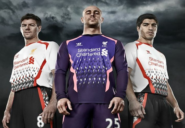 Liverpool Kit 1980 in The Kits of The 1980s