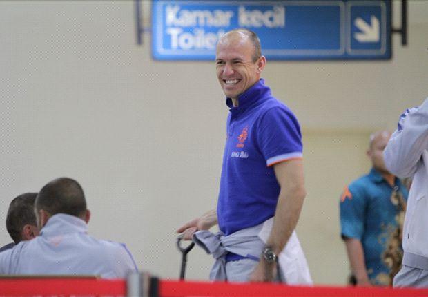 Arjen Robben wil niet weg bij Bayern München