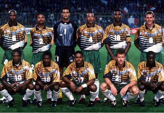 Bafana Bafana's four best starting XI's