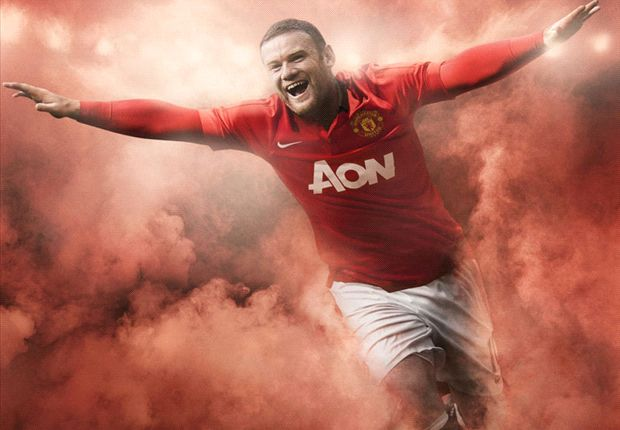 Wayne Rooney involved in Manchester United kit launch