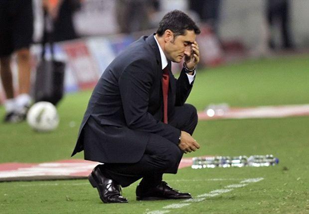 Ernesto Valverde se enfrenta a un Barcelona que lo sigue de cerca