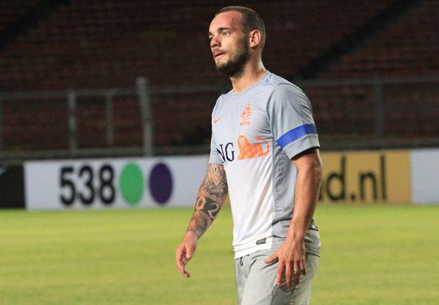 Van Gaal baut auf Wesley Sneijder