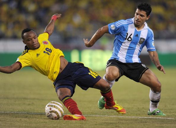 Colombia vs. Argentina durante 20 años - Argentina 0
