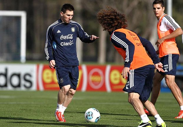 Argentina sweating on Messi fitness