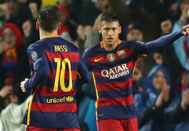 Barcelona 3-1 Arsenal (agg. 5-1): Messi, Suarez & Neymar fire Catalans to quarter-finals