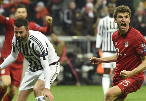 Muller jokes Guardiola threatened to 'cut off our balls' if Bayern lost to Juventus