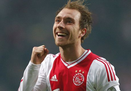 WATCH: Eriksen's Ajax highlights