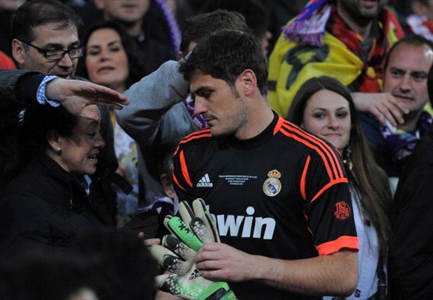 Casillas dropped by Real Madrid