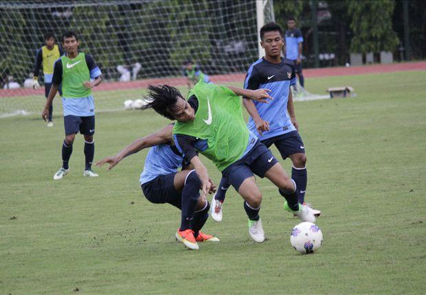 Aji Santoso berharap pemain bisa memperlihatkan karakter natural