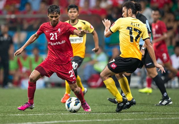 Singapore and LionsXII centreback Safuwan Baharudin is in Goal Asia's May Team of the Month