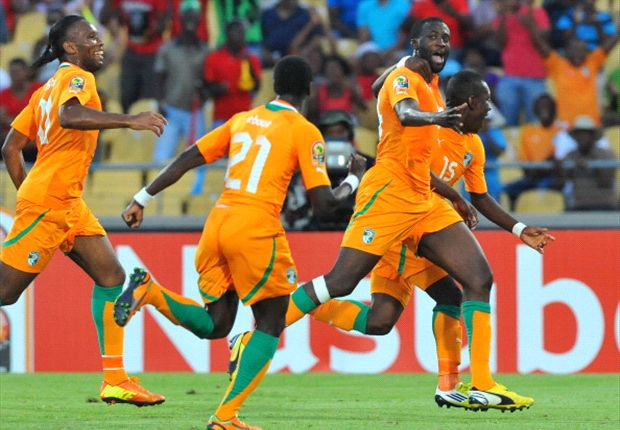 Yaya Toure scored a brace for Cote D'Ivoire against Tanzania