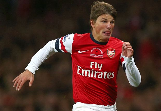 Arshavin hits out at Arsenal fans