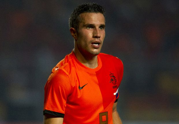 Robin van Persie captained Netherlands for the first time against Indonesia