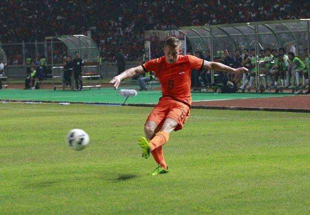 Jens Toonstra mengaku kaget bermain selama 90 menit di Jakarta