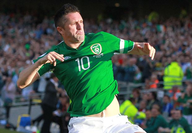 Ireland 3-0 Faroe Islands: Keane the hat-trick hero on record-breaking night