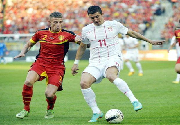 Belgien besiegt Serbien