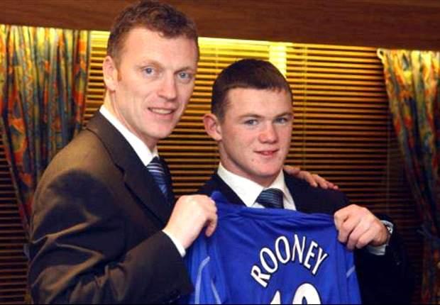 Wayne Rooney und die dunklen Wolken über der Ankunft von David Moyes