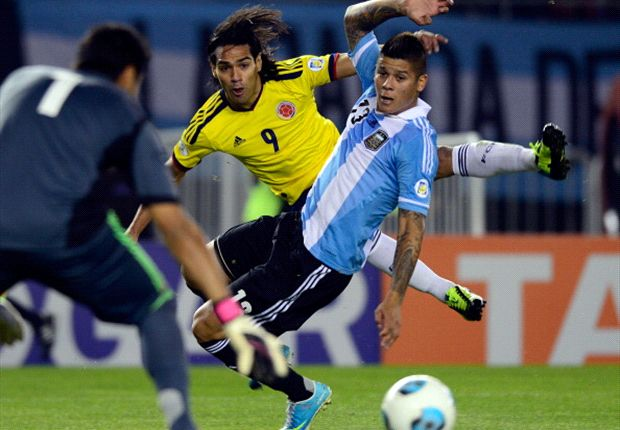 Argentina 0-0 Colombia: Higuain and Zapata sent off in entertaining draw