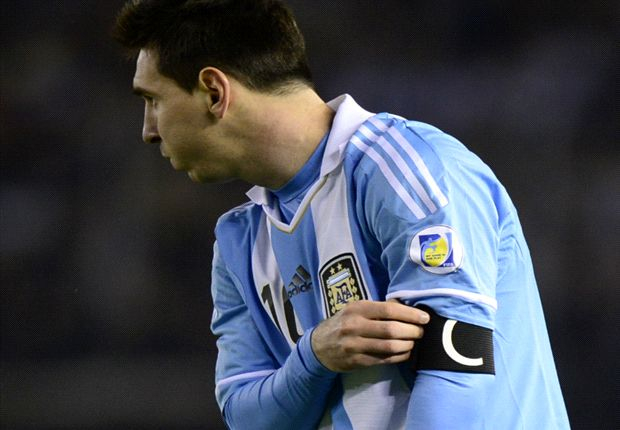 Messi was left content after Argentina's 1-1 draw with Ecuador