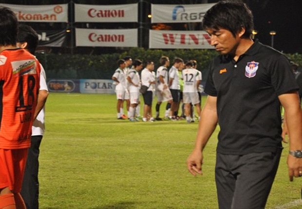 Albirex coach Sugiyama was not happy with just a point against Geylang