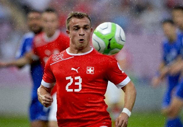 Switzerland 2-0 Peru: Lichtsteiner and Shaqiri on target as hosts leave it late