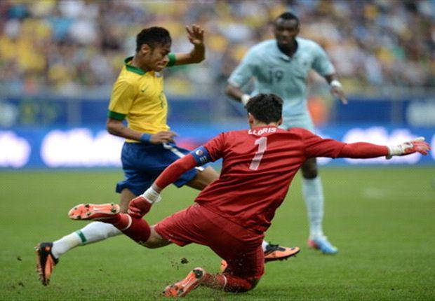 Brasil goleó sin problemas a Francia y llega en gran forma a la Confederaciones