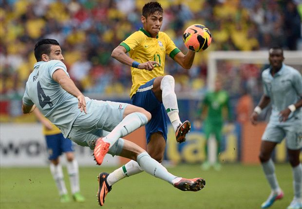 Neymar: Brazil are steadily improving