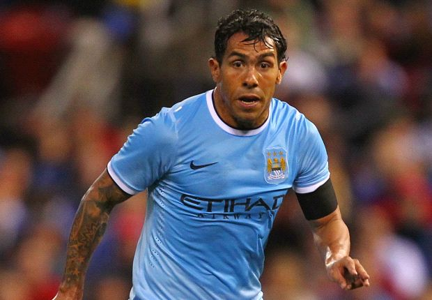 Galliani: Manchester City striker Tevez not a transfer target for AC Milan