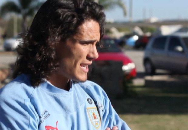 Cavani: Jugar en el Real Madrid sería un sueño