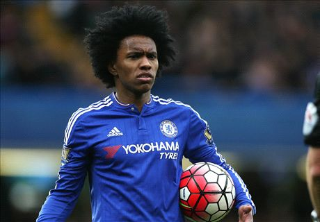 RUMOURS: Chinese giants eye Willian