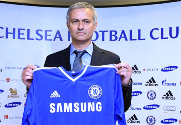 Jose Mourinho was relaxed on his Chelsea return
