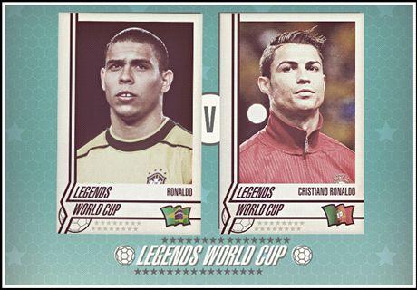 Legends Cup: Cristiano v Ronaldo