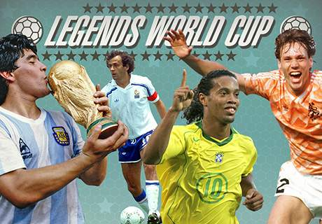 CARTOON: Legends World Cup clashes