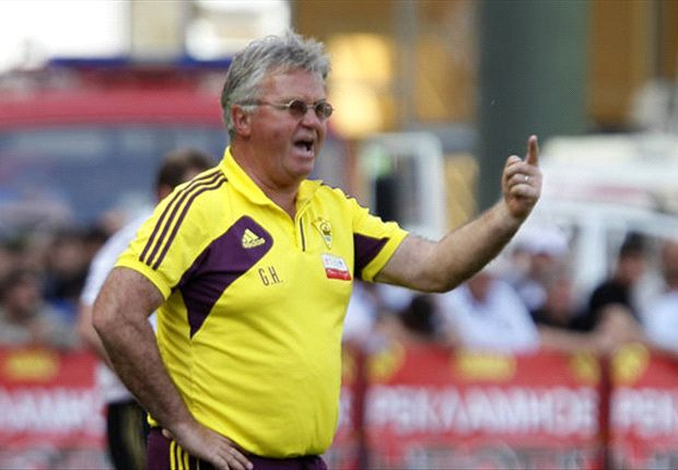 Hiddink has signed a new one-year deal with Anzhi