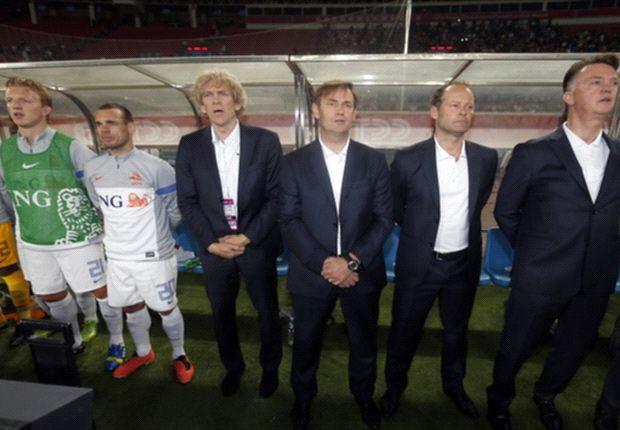 Technische staf nederlands elftal