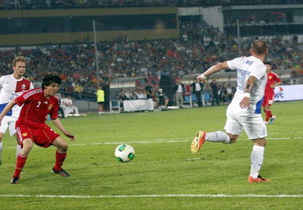 """Sneijder: """"Geloof in mezelf nooit verloren"""""""